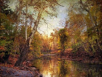 Autumn Landscape Digital Art - Autumnal Tones 2 by Jessica Jenney