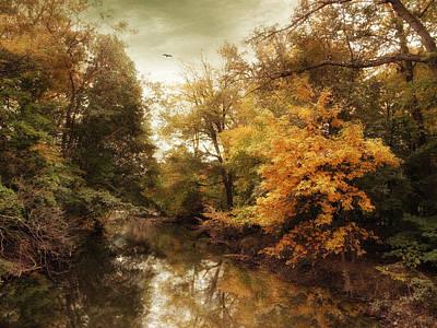 Autumn's Allure  Art Print by Jessica Jenney