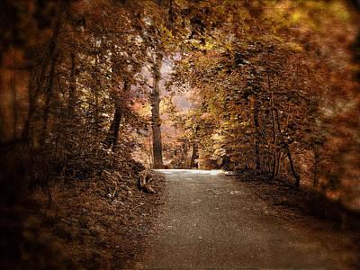 Autumn's Aura Art Print