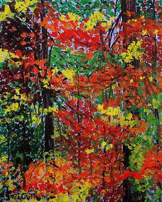 Painting - Autumn's Best by Mike Caitham