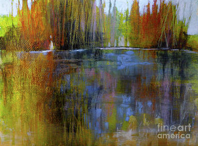 Autumn's Caress Art Print by Melody Cleary