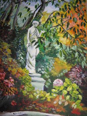 Autumn's Colours Art Print by Alina Blaszczyk