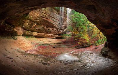 Photograph - Autumn's Door by Josh Eral