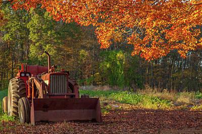 Photograph - Autumns Farm by Karol Livote
