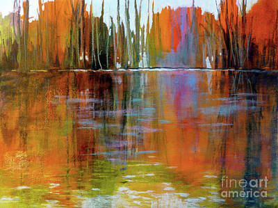 Autumn's Fire No. 2 Art Print by Melody Cleary