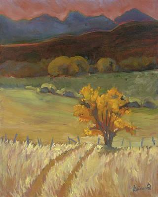 Autumn's Gold Art Print