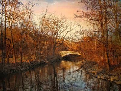 Golden Pond Wall Art - Photograph - Autumn's Golden Glow by Jessica Jenney