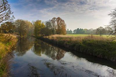 Photograph - Autumns Mirror by Stewart Scott