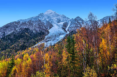 Photograph - Autumn's Peak by Brian Stevens