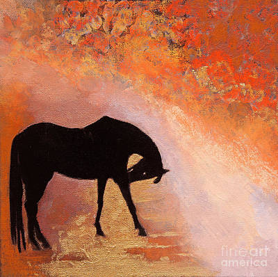 Painting - Autumn's Silhouette by Sandra Silva