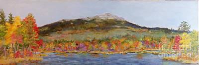 Mt. Monadnock Painting - Autumns Song by Alicia Drakiotes