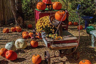 Photograph - Autumn's Trolley by Alana Thrower
