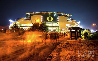 Photograph - Autzen 2017-1 by Michael Cross