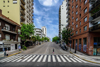 Photograph - Av. Paseo Colon by Randy Scherkenbach