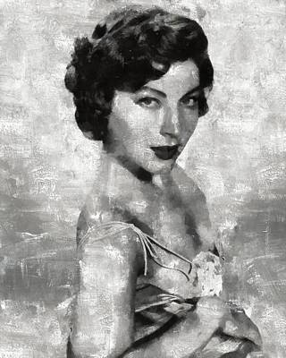 Celebrities Royalty-Free and Rights-Managed Images - Ava Gardner by Esoterica Art Agency