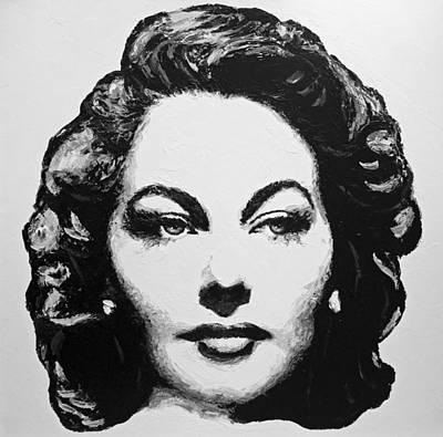 Painting - Ava Gardner by Havi
