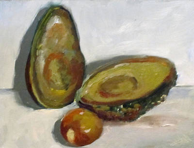 Avacado Painting - Avacado by Delilah  Smith