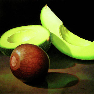 Avacado Painting - Avacado by Timothy Jones