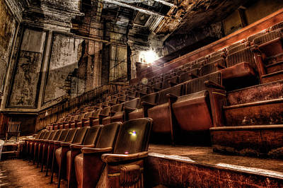 Photograph - Available Seating by John Hoey