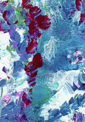 Avalanche Alaska #2 Art Print