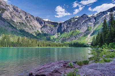 Photograph - Avalanche Lake by Adam Mateo Fierro