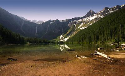 Avalanche Lake At Dawn Art Print