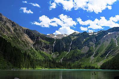 Photograph - Avalanche Lake by David Lyle
