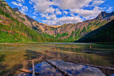 Glacier National Park Photograph - Avalanche Lake by Greg Norrell