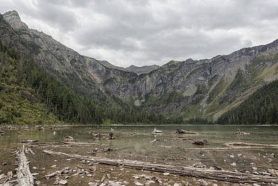 Photograph - Avalanche Lake No. 1 - Glacier Np by Belinda Greb