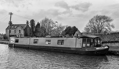 Photograph - Avalon At Linlithgow Canal Centre by Jeremy Lavender Photography