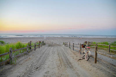 Photograph - Avalon - Beach Path - New Jersey by Bill Cannon