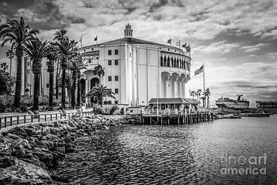 Avalon Casino Catalina Island Picture Art Print by Paul Velgos