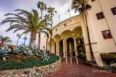 Catalina Island Photograph - Avalon Casino Entrance On Catalina Island by Paul Velgos