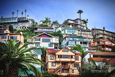 Island Stays Photograph - Avalon Hillside With Harbor View by Norma Warden