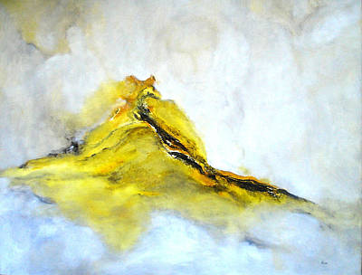 Modern Abstract Painting Avalon Island Original