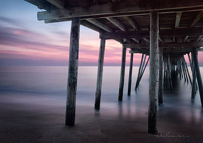 Best Sellers - Dan Beauvais Royalty-Free and Rights-Managed Images - Avalon Pier 5641 by Dan Beauvais