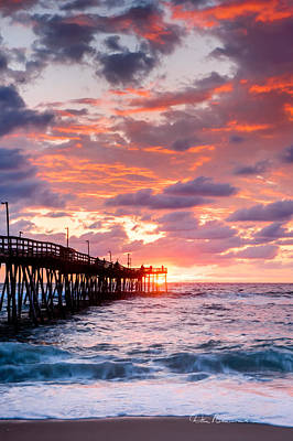 Photograph - Avalon Pier 9683 by Dan Beauvais