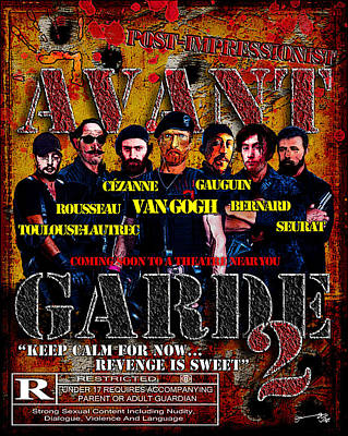 Avant Garde 2 - Movie Poster Art Print