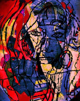 Outsider Art Mixed Media - Avant Garde by Natalie Holland
