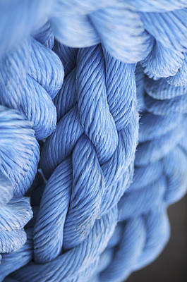 Photograph - Avatar Blue Rope by Henri Irizarri