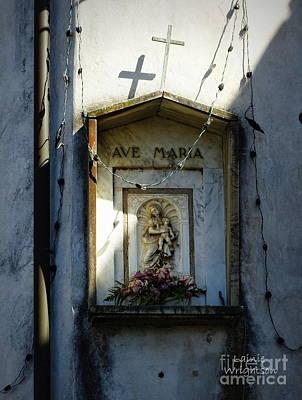 Ave Maria Shrine Art Print