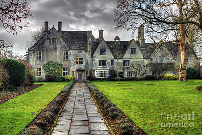 Photograph - Avebury Manor by Rick Mann