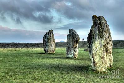 Photograph - Avebury Stones by Rick Mann