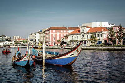 Photograph - Aveiro Boats by Carlos Caetano
