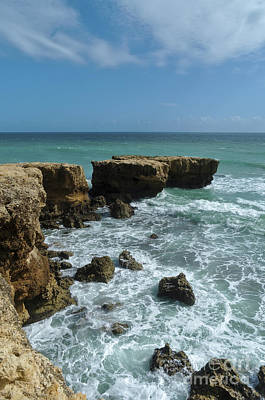 Photograph - Aveiros Beach In Albufeira. Portugal by Angelo DeVal