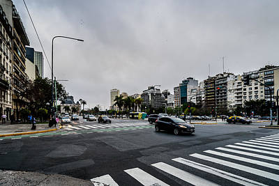 Photograph - Avenida 9 De Julio by Randy Scherkenbach