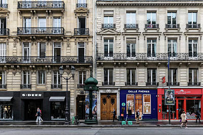 Photograph - Avenue De L'opera by Steven Richman