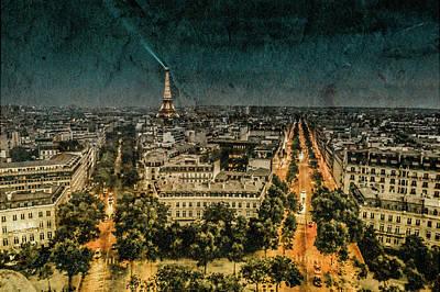 Photograph - Paris, France - Avenue Kleber by Mark Forte