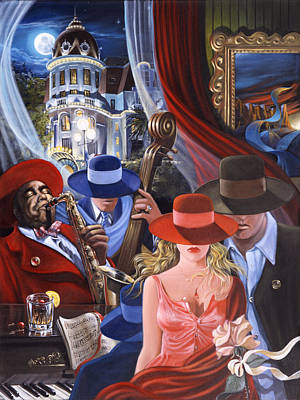 Painting - Avenue Of The Angels by Victor Ostrovsky