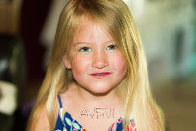 Photograph - Avery by Edward Peterson